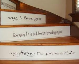 Stairway Sayings