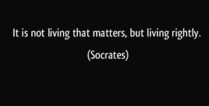 Socrates philosophy quote