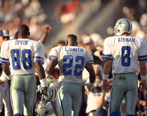 Emmit Troy Irvin PHOTO | Troy Aikman, Michael Irvin and Emmitt Smith