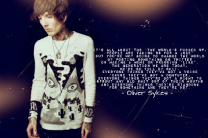 QUOTE OLIVER SYKES