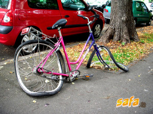 Funny Accidental Bicycle