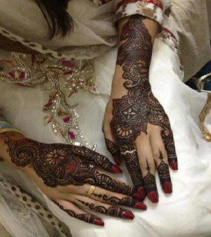 Beautiful Indian Quotes Mehndi For Hands-1