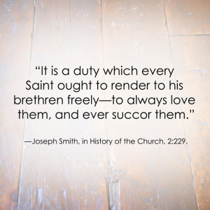 LDS Quote | Joseph Smith #Service #Charity #Love http ...
