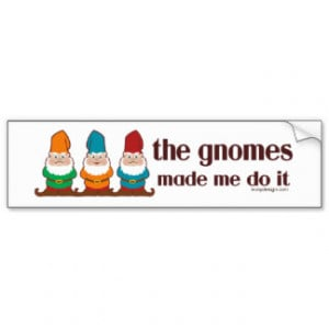 Garden Gnome Sayings Gifts