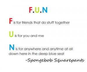 Spongebob Best Friend Quotes