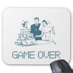 Marriage Quotes Mouse Pads