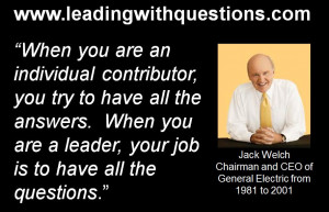 """My Top Ten Favorite """"Leading with Questions"""" Quotes"""