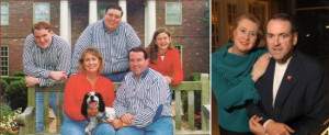 Left: Huckabee family several years ago, Mike and Janet Huckabee more ...