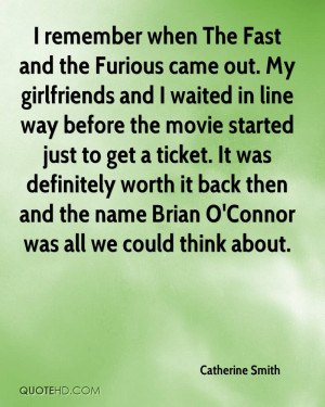 Brian Fast and Furious Quotes