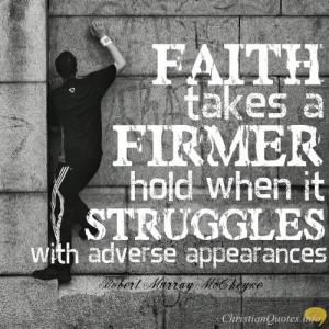 Robert Murray McCheyne Quote – 4 Ways Faith is Like a Muscle