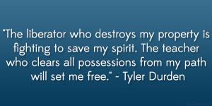 31 Die-Hard Tyler Durden Quotes