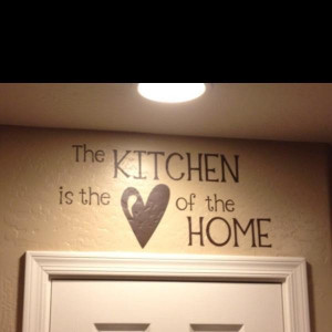 Kitchen quotes, positive, sayings, best, home