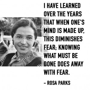 Rosa Parks - civil rights activist #internationalwomensday #rosaparks ...