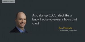 Ben Horowitz Quote