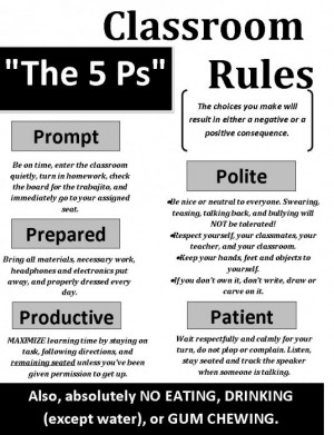 ... Home › Quotes › classroom rules for high school – Google Search