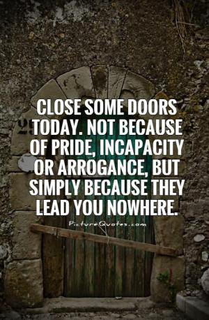 Door Close Quotes