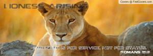 lioness arising Profile Facebook Covers