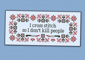Home I cross stitch quote
