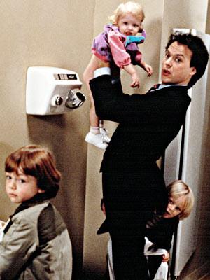 Michael Keaton | MR. MOM (1983) Michael Keaton loses his job, grows a ...