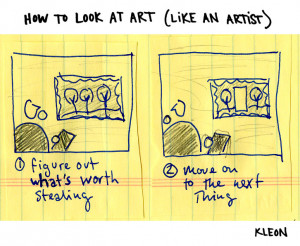 How To Look At Art….