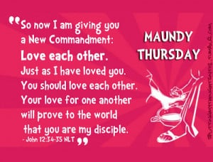 Thursday Work Quotes Blessed maundy thursday