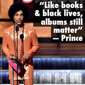 Photo & Quote Of The Moment: PRINCE At The Grammys