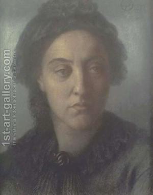 Dante Gabriel Rossetti:Christina Rossetti 2