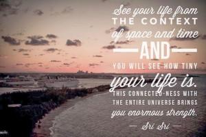 Quotes by Sri Sri Ravi Shankar