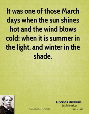 march winds sayings