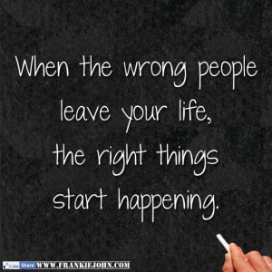 People Leaving Your Life Quotes