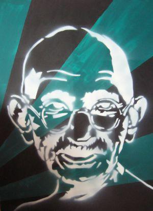 The Nation Mahatma Abstract