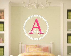 ... Wall Quote - Nursery Vinyl Wall Decal - Child's Room Vinyl Wall Decal
