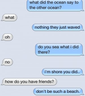 Clever Text Message Conversation - Image