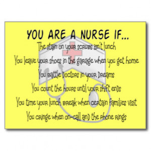 nurse_sayings_you_are_a_nurse_if_postcards ...
