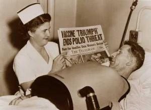 ... XX: Los pulmones de acero, los bitutores y la vacuna de la polio