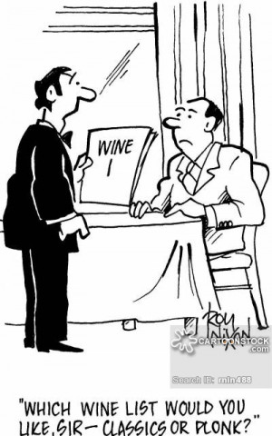 Funny Cartoon Where The Waiter Refill Drink