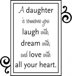 Daughter. by lorene