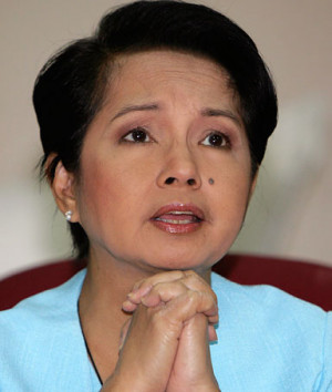 Gloria Macapagal Arroyo, President of the Philippines, vowing to crack ...