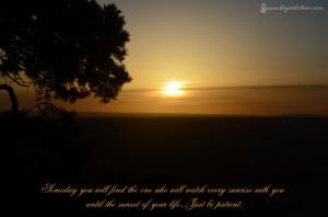 Sunrise Sunset Love Quotes