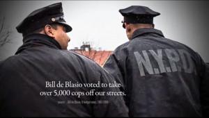Cops. Bill de Blasio hates them. Standard. Moving on.