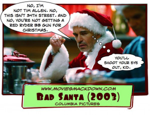 Bad Santa Quotes Funny