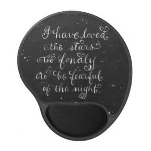 inspirational quote Mouse Pad Gel Mouse Pad