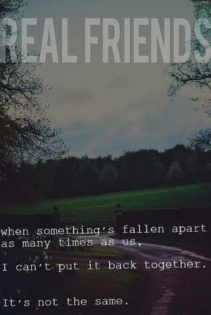 Real Friends Band Quotes Tumblr...