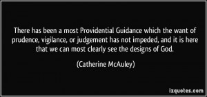 Guidance which the want of prudence, vigilance, or judgement ...