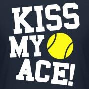 kiss my ace tennis 2 Women's T-Shirts