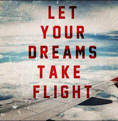 dreams take flight.. | #dream #flight #aviation #AviationLover #plane ...