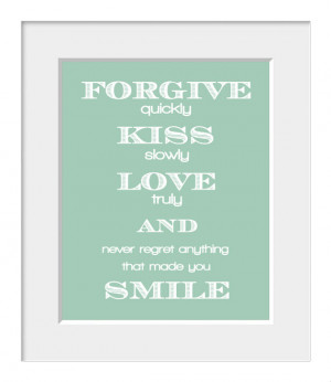Audrey Hepburn, Typography, Love Print, Inspirational Quote, Home ...