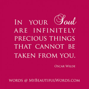beauty in your soul quotes