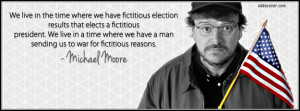 Michael Moore Quote Facebook Cover