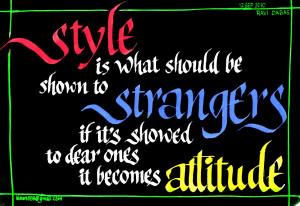 Quotes On Attitude HD Wallpaper 29